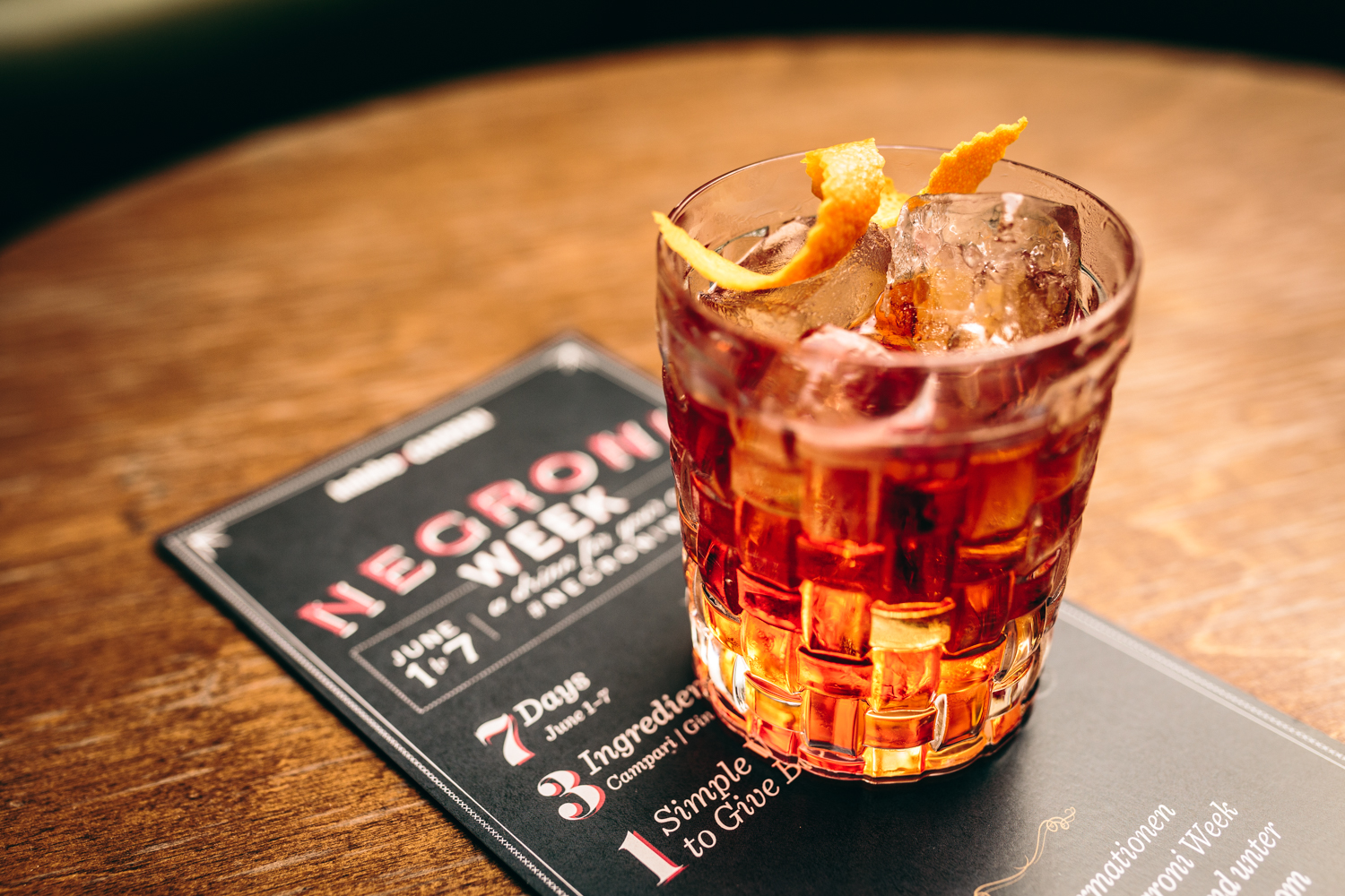 Старт NEGRONI WEEK 2016: THERE'S NO CHEERS WITHOUT A CAUSE